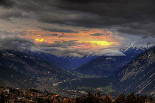 rhone vallei foto