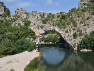 Pont d'Arc, Ardeche.